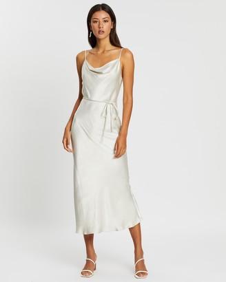 Shona Joy Bias Cowl Midi Dress
