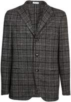 Boglioli Line Checked Pattern Blazer
