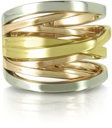 Michael Kors Yellow, Rose Gold and Silver Eternity Ring