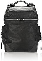 Alexander Wang Wallie Backpack In Waxy Black With Rhodium