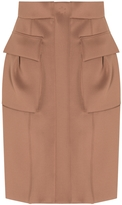 Bottega Veneta Mini Skirt With Patch Pockets