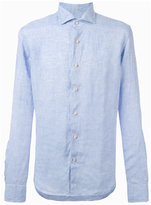 Xacus denim button-up shirt