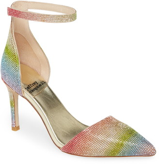 Jeffrey Campbell Soltair Ankle Strap Pump