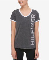 Tommy Hilfiger Logo Ringer T-Shirt, Only at Macy's