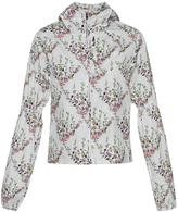 Giambattista Valli Puffed Sleeve Floral Print Jacket