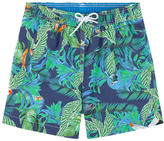 Hackett Printed swim shorts