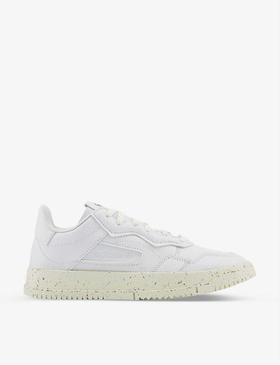 adidas SC Premiere vegan-leather trainers