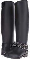 Love Moschino Chain Rubber Rain Boots