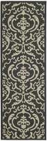 """Safavieh Courtyard Collection CY2663-3908 Black and Indoor/ Outdoor Runner, 2 feet 3 inches by 6 feet 7 inches (2'3"""" x 6'7"""")"""