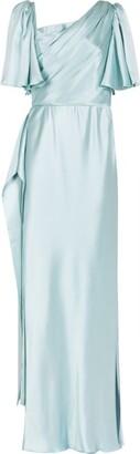 Dolce & Gabbana Silk Belted Dress