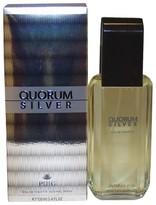 Antonio Puig Men's Quorum Silver by Eau de Toilette Spray - 3.4 oz