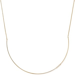 Bloomingdale's Kc Designs 14K Yellow Gold Diamond Collar Necklace with Linear Pendant