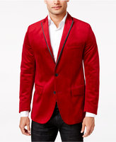 INC International Concepts Men's Rex Classic-Fit Velvet Blazer, Only at Macy's