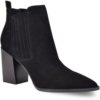 Nine West Beata Women's Suede Ankle Boots