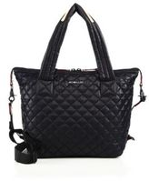 M Z Wallace Sutton Oxford Medium Quilted Nylon Tote