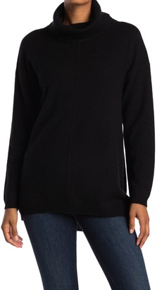 Magaschoni Cowl Neck Cashmere Tunic Sweater