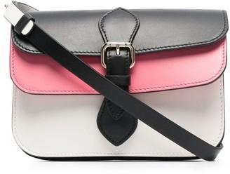 Red(V) Pochette colour-block bag