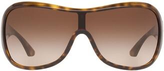 Sarah Jessica Parker Tortoiseshell Effect Oversized Sunglasses