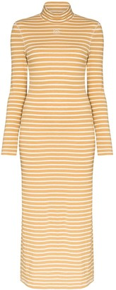 Loewe Striped Turtleneck Dress