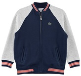Lacoste Navy and Grey Baseball Jacket