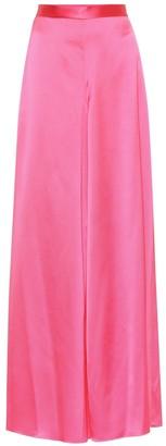Balenciaga Wide-leg satin pants