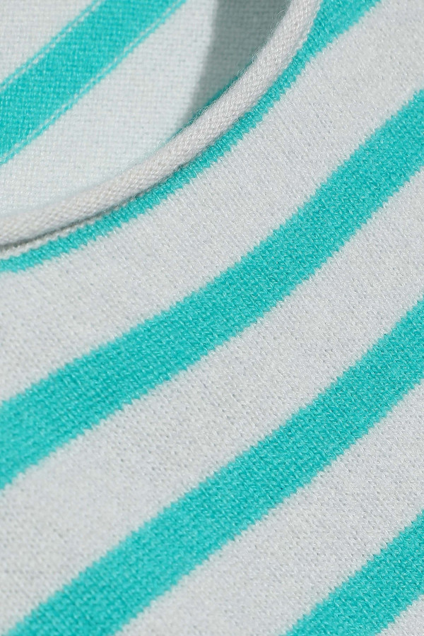 Thumbnail for your product : Line Jackie Striped Cashmere Sweater