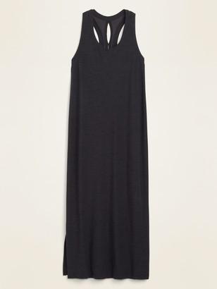 Old Navy Breathe ON Sleeveless Midi Shift Dress for Women