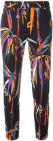 Emilio Pucci palm trees print leggings - women - Silk/Cotton/Spandex/Elastane/Viscose - 40