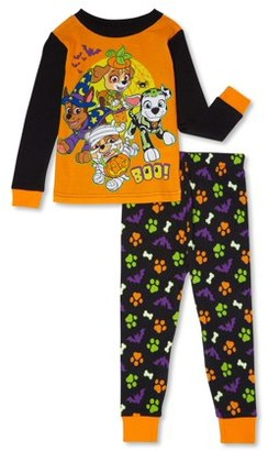 Paw Patrol Toddler Boys Snug Fit Cotton Long Sleeve Pajamas, 2-Piece PJ Set (2T-5T)