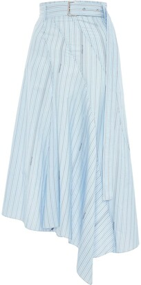 J.W.Anderson Asymmetric Belted Panelled Skirt