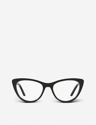 Prada PR 05XV Millennials acetate cat-eye frame optical glasses