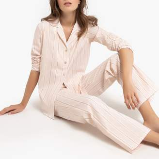 La Redoute Collections Striped Cotton Pyjamas