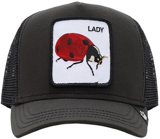 Goorin Bros. Lady Bug Patch Baseball Hat