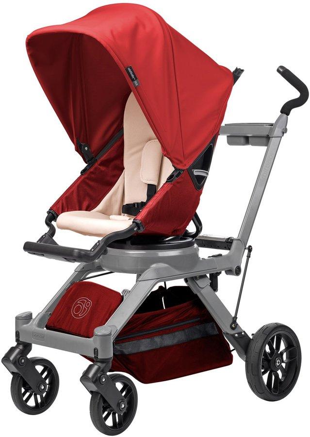 Orbit Baby G3 Stroller - Peach - Ruby - Black