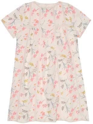 Bonpoint Nora floral cotton dress