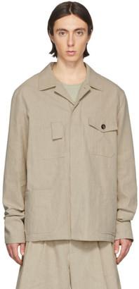 Maison Margiela Beige Linen Jacket