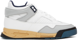 Maison Margiela Blue and White DDSTCK Sneakers