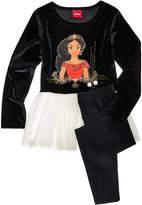 Disney Disney's Princess Elena of Avalor Skirted Tunic & Leggings Set, Little Girls