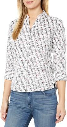 Foxcroft Women's Plus Size Mary Toucan Wrinkle Free Shirt