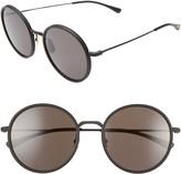 Salt Audrey 56mm Polarized Round Sunglasses