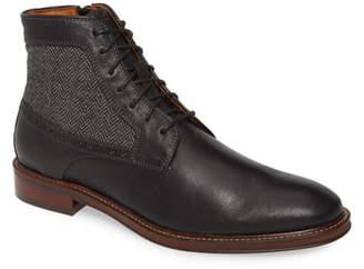 Johnston & Murphy Warner Plain Toe Boot