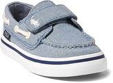 Ralph Lauren Toddler Batten Chambray Ez Boat Shoe