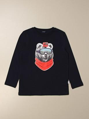 Il Gufo T-shirt With Bear Print