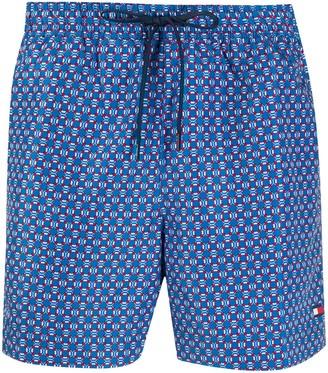 Tommy Hilfiger Life Buoy Print Swim Shorts