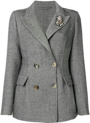 Ermanno Scervino embellished fitted blazer