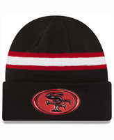 New Era San Francisco 49ers On-Field Color Rush Pom Knit