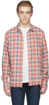 Frame Pink Flannel Shirt