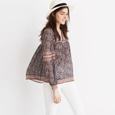 Madewell Ulla JohnsonTM Silk Manon Top