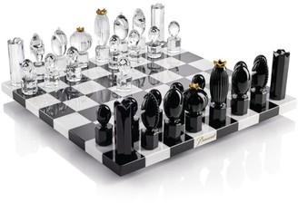 Baccarat Crystal Chess Set