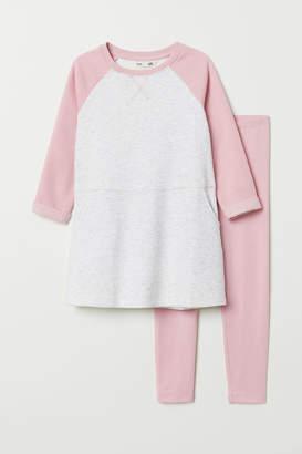H&M Dress and Leggings Set
